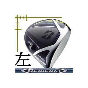 先行予約 レフティ ブリヂストンゴルフ ツアーB JGR ドライバー ディアマナ BFシリーズ カスタムモデル 18年モデル|lockon
