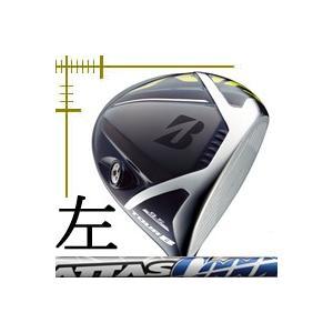 先行予約 レフティ ブリヂストンゴルフ ツアーB JGR ドライバー アッタス クール シリーズ カスタムモデル 18年モデル|lockon