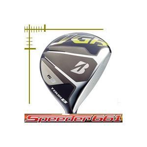 ブリヂストンゴルフ ツアーB JGR フェアウェイウッド スピーダー エボリューション 2シリーズ カスタムモデル 18年モデル|lockon