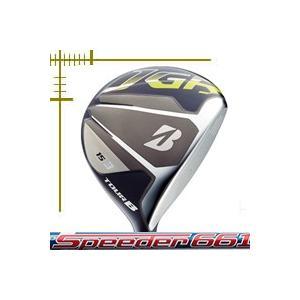 ブリヂストンゴルフ ツアーB JGR フェアウェイウッド スピーダー エボリューション シリーズ カスタムモデル 18年モデル|lockon