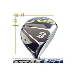 ブリヂストンゴルフ ツアーB JGR フェアウェイウッド アッタス クール シリーズ カスタムモデル 18年モデル|lockon