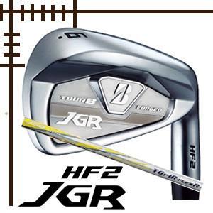 ブリヂストンゴルフ ツアーB JGR HF2 アイアン 単品 AW SW TG1-IRカーボンシャフト 18年モデル|lockon