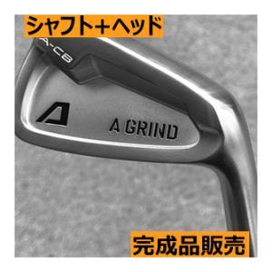 Aデザインゴルフ Aグラインド ACB アイアン 7本(4番〜P)セット ヘッド+シャフト カスタムクラブ完成品|lockon
