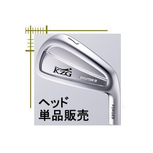 KZG エボリューション3 アイアン 5番〜PW 6個セット ヘッド単体販売|lockon