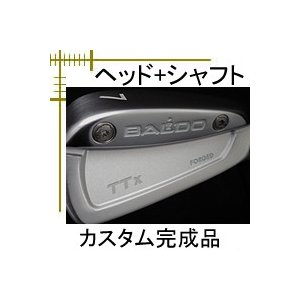 バルド TTX フォージド アイアン 6個(5番〜PW)セット ヘッド+シャフト カスタムクラブ完成品|lockon