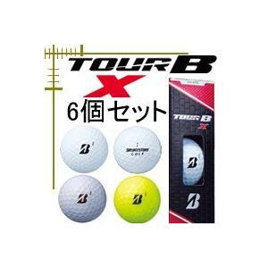 ブリヂストンゴルフ ツアー B X ボール 18年モデル 6個販売|lockon
