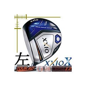 先行予約 レフティ ダンロップ ゼクシオ10 テン ドライバー ツアーAD IZシリーズ カスタムモデル|lockon