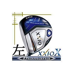 先行予約 レフティ ダンロップ ゼクシオ10 テン ドライバー ディアマナ BFシリーズ カスタムモデル|lockon