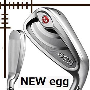 プロギア NEW egg レディス アイアン 単品 A AS S オリジナルカーボンシャフト 19年モデル lockon