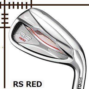プロギア RS RED レディス アイアン 単品 5番 6番 スピーダーエボリューション for PRGRカーボンシャフト 19年モデル lockon