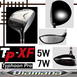 カムイ TP XF フェアウェイウッド(W5/W7) ディアマナ ZFシリーズ カスタムモデル lockon