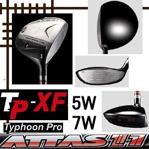 カムイ TP XF フェアウェイウッド(W5/W7) アッタス11(ジャック) シリーズ カスタムモデル lockon