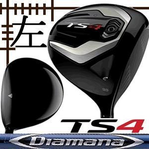 レフティ タイトリスト TS4 ドライバー ディアマナ BFシリーズ カスタムモデル 日本仕様 19年 数量限定モデル|lockon