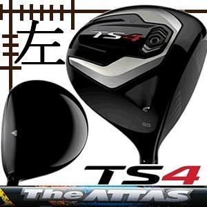 レフティ タイトリスト TS4 ドライバー ジ アッタスシリーズ カスタムモデル 日本仕様 19年 数量限定モデル|lockon