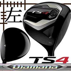レフティ タイトリスト TS4 ドライバー ディアマナ ZFシリーズ カスタムモデル 日本仕様 19年 数量限定モデル|lockon