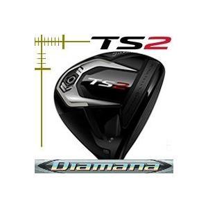 タイトリスト TS2 フェアウェイウッド ディアマナ ZFシリーズ カスタムモデル 日本仕様 19年モデル lockon