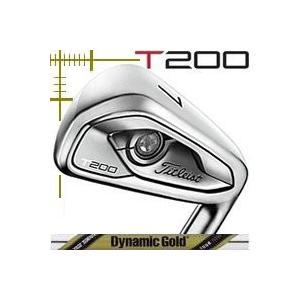 タイトリスト T200 アイアン 5本(6番〜P)セット ダイナミックゴールド ツアーイシューシリーズ カスタムモデル 日本仕様 19年モデル|lockon