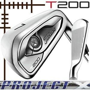 タイトリスト T200 アイアン 5本(6番〜P)セット プロジェクトX LZシリーズ カスタムモデル 日本仕様 19年モデル|lockon