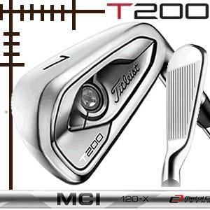 タイトリスト T200 アイアン 5本(6番〜P)セット フジクラ MCI100 カーボンシリーズ カスタムモデル 日本仕様 19年モデル|lockon