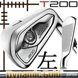 レフティ タイトリスト T200 アイアン 5本(6番〜P)セット NEWダイナミックゴールド シリーズ カスタムモデル 日本仕様 19年モデル|lockon