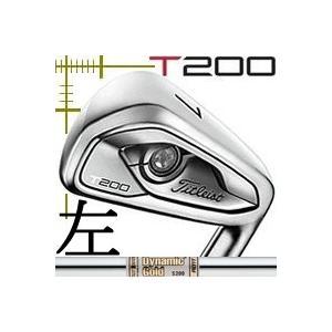 レフティ タイトリスト T200 アイアン 5本(6番〜P)セット ダイナミックゴールド AMTシリーズ カスタムモデル 日本仕様 19年モデル|lockon