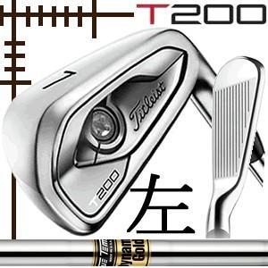 レフティ タイトリスト T200 アイアン 5本(6番〜P)セット ダイナミックゴールド シリーズ カスタムモデル 日本仕様 19年モデル|lockon