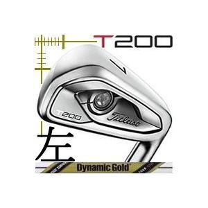 レフティ タイトリスト T200 アイアン 5本(6番〜P)セット ダイナミックゴールド ツアーイシューシリーズ カスタムモデル 日本仕様 19年モデル|lockon