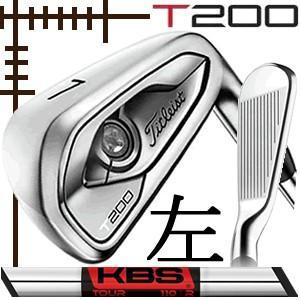 レフティ タイトリスト T200 アイアン 5本(6番〜P)セット KBSツアー シリーズ カスタムモデル 日本仕様 19年モデル|lockon