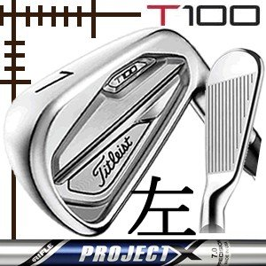 レフティ タイトリスト T100 アイアン 単品 5番 プロジェクトX シリーズ カスタムモデル 日本仕様 19年モデル lockon