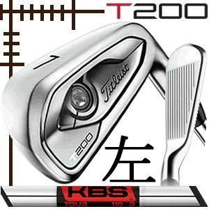 レフティ タイトリスト T200 アイアン 単品 5番 KBSツアー シリーズ カスタムモデル 日本仕様 19年モデル lockon