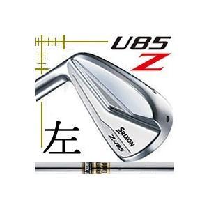レフティ ダンロップ スリクソン Z U85 アイアン型 ユーティリティ ダイナミックゴールドシリーズ カスタムモデル|lockon