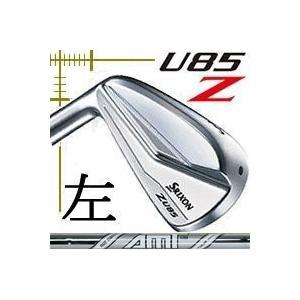レフティ ダンロップ スリクソン Z U85 アイアン型 ユーティリティ ダイナミックゴールド AMT ツアーホワイト シリーズ カスタムモデル|lockon