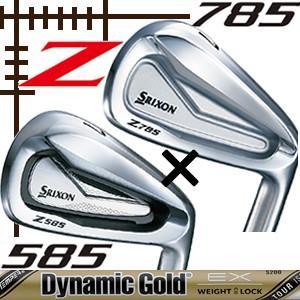 ダンロップ スリクソン Z585/Z785 コンボアイアン 6本(5番〜P)セット ダイナミックゴールド ツアーイシュー EXシリーズ カスタムモデル|lockon