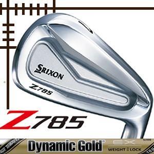 ダンロップ スリクソン Z785 アイアン 6本(5番〜P)セット ダイナミックゴールド ツアーイシュー EXシリーズ カスタムモデル|lockon