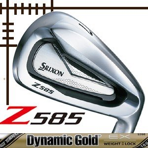 ダンロップ スリクソン Z585 アイアン 単品 4番 ダイナミックゴールド ツアーイシュー EXシリーズ カスタムモデル|lockon