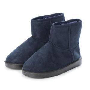 SFW サンエープラスフェミニン AAA+ feminine ふわっふわのボアが暖かくて快適な履き心地♪軽くて歩きやすいムートンブーツ 3519 ネの商品画像|ナビ