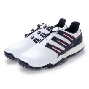 アディダス adidas メンズ ゴルフ ダイヤル式スパイクシューズ パワーバンド ボア ブースト ...