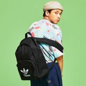 アディダス adidas アディカラー クラシック バックパック (ブラック)の画像