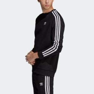 アディダス adidas クルースウェット / 3 STRIPES CREW (ブラック)