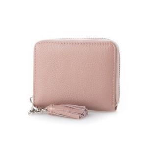ビュレ Beau're ラウンドジップ 二つ折り財布 (ピンク)|ブランド公式 LOCOMALL ロコモール
