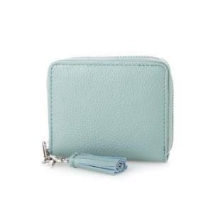ビュレ Beau're ラウンドジップ 二つ折り財布 (ライトブルー)|ブランド公式 LOCOMALL ロコモール