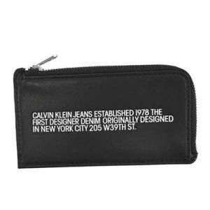 カルヴァンクラインジーンズ Calvin Klein Jeans CARDCASE WITH COIN CASE (BLACK)|ブランド公式 LOCOMALL ロコモール
