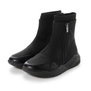 サヴァサヴァ cava cava スニーカーブーツ (ブラック) ブランド公式 LOCOMALL ロコモール