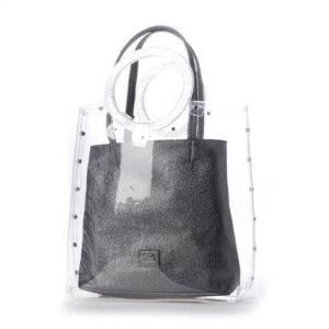 セシルマクビー CECIL McBEE コロナ インバッグ付きビニールバッグ (ブラック)|ブランド公式 LOCOMALL ロコモール