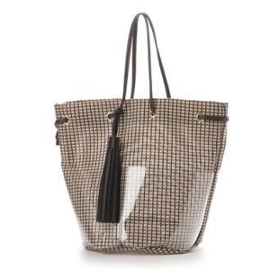 クーコ COOCO ショルダーバッグ レディース 巾着 メッシュ(ブラウン) ブランド公式 LOCOMALL ロコモール