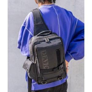 ディバイス DEVICE フロントバックル メガボディバッグ (ブラック)|ブランド公式 LOCOMALL ロコモール