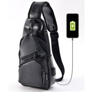 ディバイス DEVICE USBポート付 ボディバッグ (ブラック)|ブランド公式 LOCOMALL ロコモール