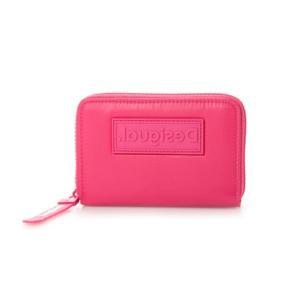 デシグアル Desigual 財布 FULL COLOR MARISA (ピンク/レッド)|ブランド公式 LOCOMALL ロコモール