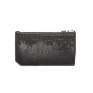 デシグアル Desigual 小財布 LYRICS CARD ZIP (グレー/ブラック)|ブランド公式 LOCOMALL ロコモール
