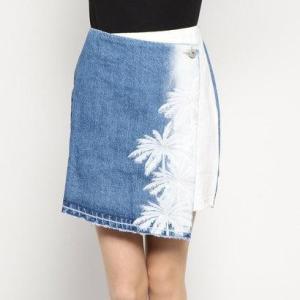デシグアル Desigual スカートショート (ブルー)|ブランド公式 LOCOMALL ロコモール